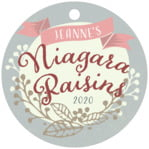 Spring Meadow circle hang tags