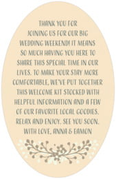 Spring Meadow oval text labels
