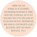 Spring Meadow circle text label