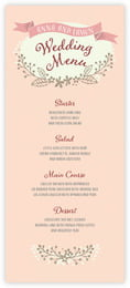 Spring Meadow menus