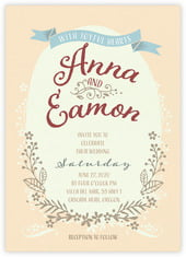 Spring Meadow invitations