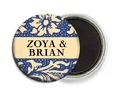 Rococo Summer button magnets