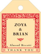 Rococo Summer small luggage tags