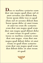Rococo Summer text labels