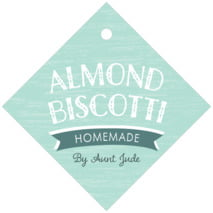 Rustic Retro diamond hang tags