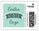 Rustic Retro small postage stamps