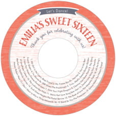 Rustic Retro cd labels