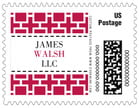 Royal Suite Small Postage Stamp In Deep Red