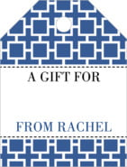 Royal Suite small luggage gift tags