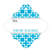 Royal Suite fancy diamond gift tags
