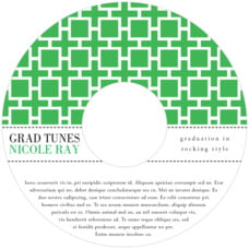 Royal Suite Cd Label In Kelly Green