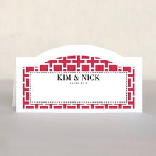 Royal Suite place cards