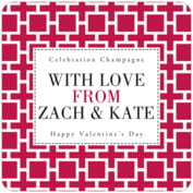 Royal Suite valentine's day coasters