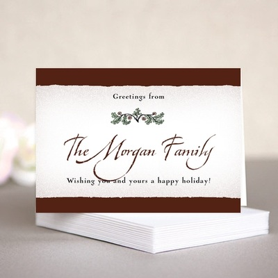 Rustic Floral folding cards