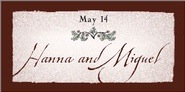Rustic Floral rectangle labels