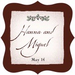 Rustic Floral fancy square labels