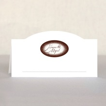 Rustic Floral place cards