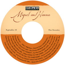 Rustic Home cd labels
