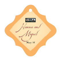 Rustic Home fancy diamond hang tags