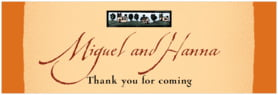 Rustic Home wide labels