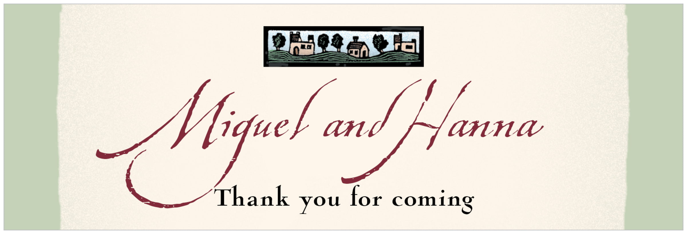 wide food/craft labels - sage - rustic home (set of 14)