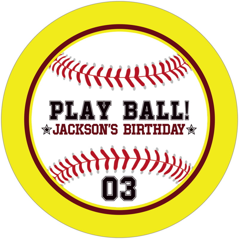 round beer coasters - maroon & yellow - baseball (set of 12)