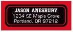 Basketball designer address labels