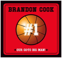 Basketball large rectangle labels