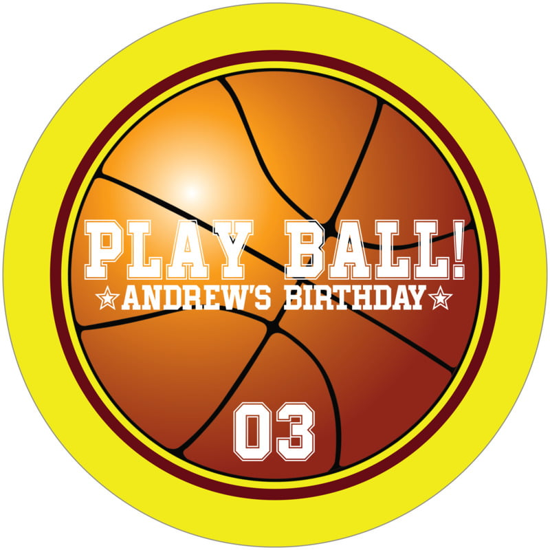 round beer coasters - maroon & yellow - basketball (set of 12)