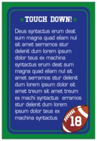 Football text labels