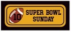Football small rectangle labels