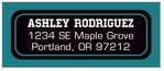 Soccer designer address labels