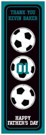 Soccer tall labels