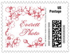 Spring business postage stamps