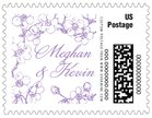 Spring small postage stamps