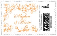 Spring large postage stamps