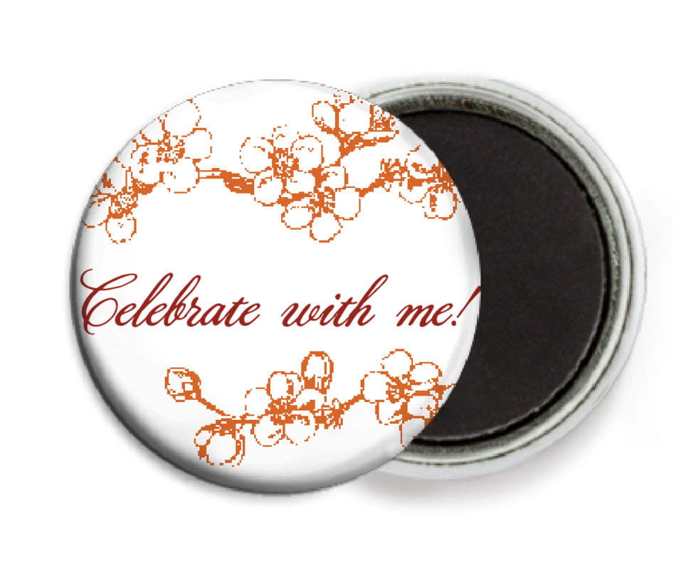 custom button magnets - spice - spring (set of 6)