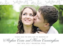 custom save-the-date cards - tuxedo - spring (set of 10)