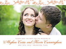 custom save-the-date cards - spice - spring (set of 10)