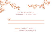 custom response cards - spice - spring (set of 10)