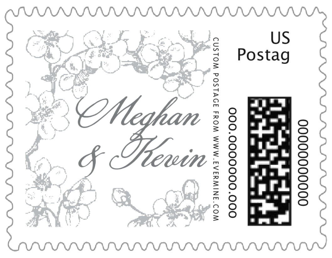 small custom postage stamps - tuxedo - spring (set of 20)