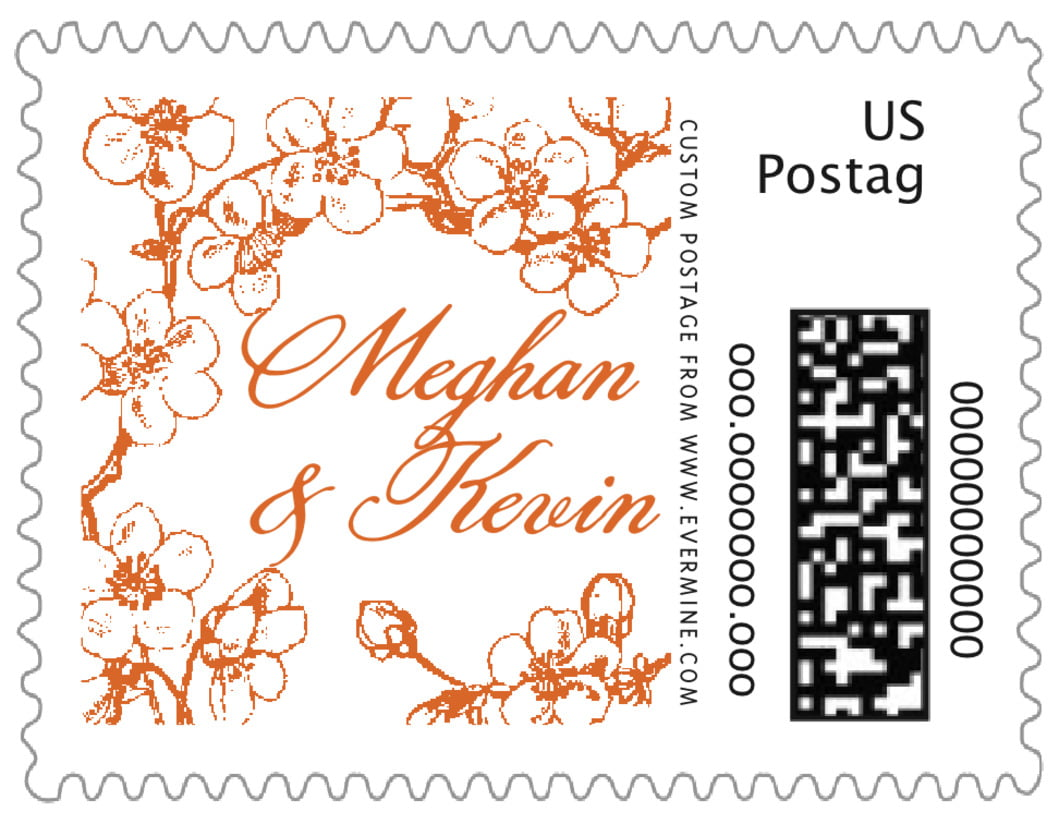 small custom postage stamps - spice - spring (set of 20)