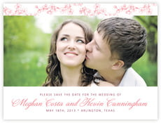 Spring save the date cards