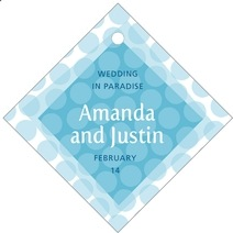 Swiss Dots diamond hang tags