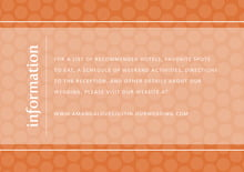 custom enclosure cards - spice - swiss dots (set of 10)