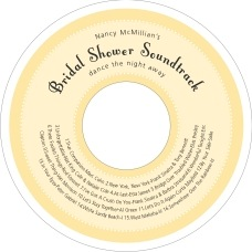 Summer Garden cd labels
