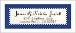 Summer Garden designer address labels