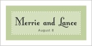 Summer Garden rectangle labels