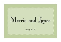 Summer Garden wide rectangle labels