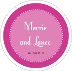 Summer Garden circle labels